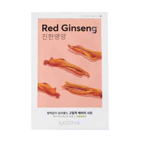 ماسک ورقه ای صورت مدل جینسینگ قرمز